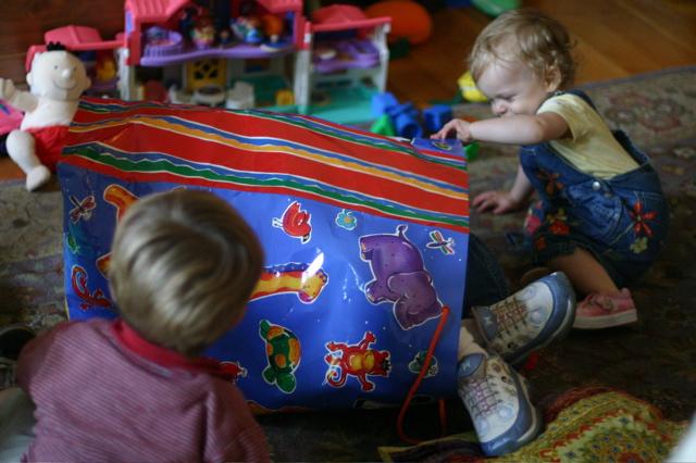 Vivian in a bag