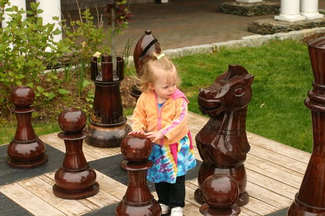 Giant Chess in Martha's Vineyard